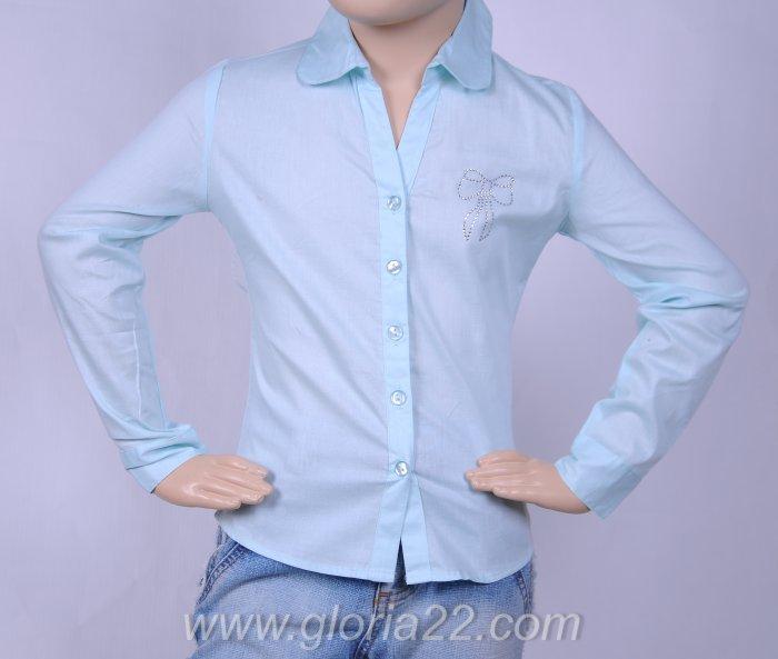 Блуза (цвет розовый) 323670
