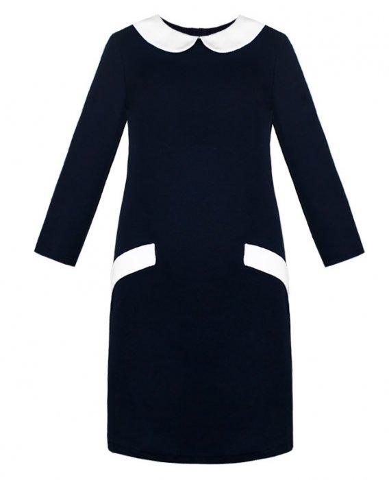 Платье школьное 8028